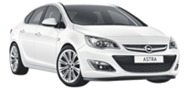 Opel Astra Sedan or similar